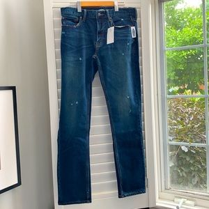 New Old Navy Slim Jeans with Built in Flex size 32